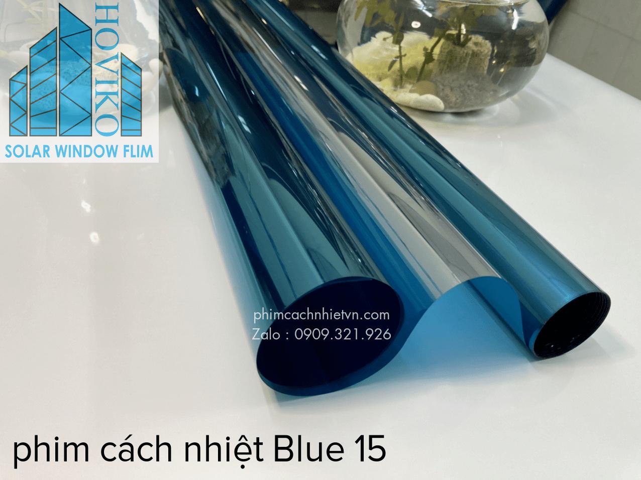 phim cách nhiệt blue 15