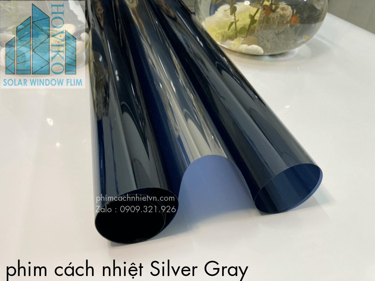 phim cách nhiệt silver gray